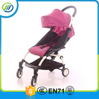 Good-quality comfortable baby stroller with canopy