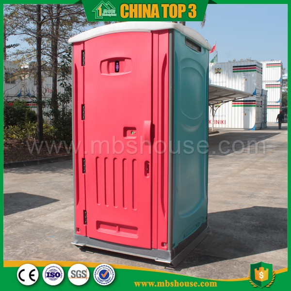 International Construction Mobile Toilet With Ceramic Bedpan Flush For Park