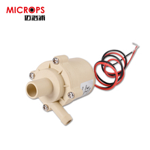 Mini dc motor dc brushless water pump