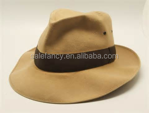 Deluxe Description fedora Indiana Jones fedora costume hat QHAT-2228