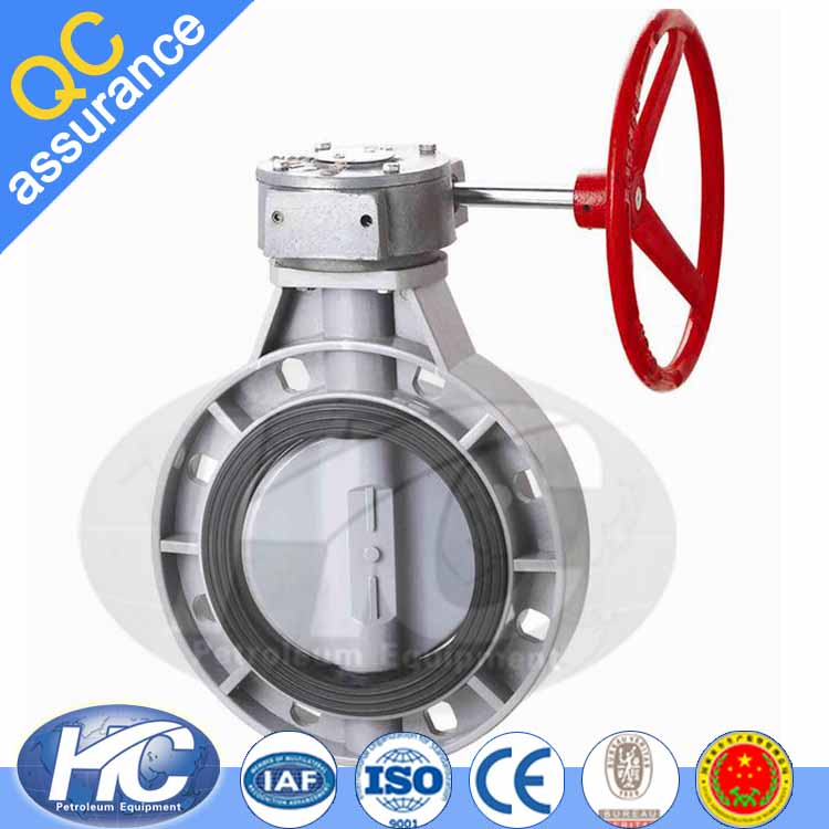 High standard flange butterfly valve/ 4 inch butterfly valve/ motorized butterfly valve with factory price