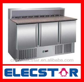 Salad Preparation Table, Salad Preparation refrigerator, Saladette Preparation cabinet