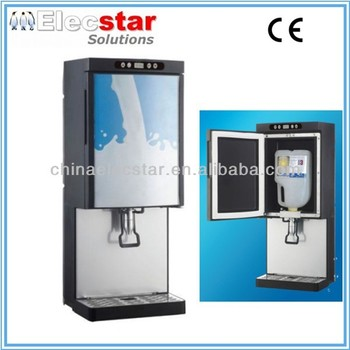 7L/9L milk cooler/milk dispenser/milk refrigerator for canteen/restaurant