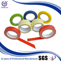 Hot Selling 12Mm X 20Y Strong Sticky High Temperature Color Masking Tape