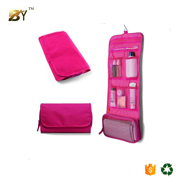 China supplier makeup brush wash bag gift toilet bag for airline