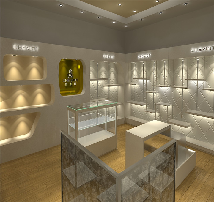 Custom wood designs jewellery shop furniture display racks for watches showcase