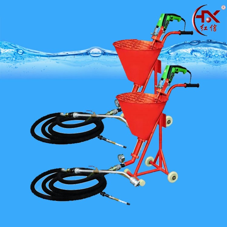 HX-750 Cement Mortar Waterproof Coating Building Concrete Spray Grouting Machine