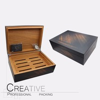 Personalized Wooden Cigar Box Humidor