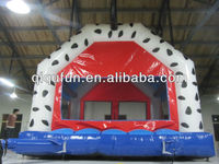 attractive outdoor inflatable bouncer cartoon