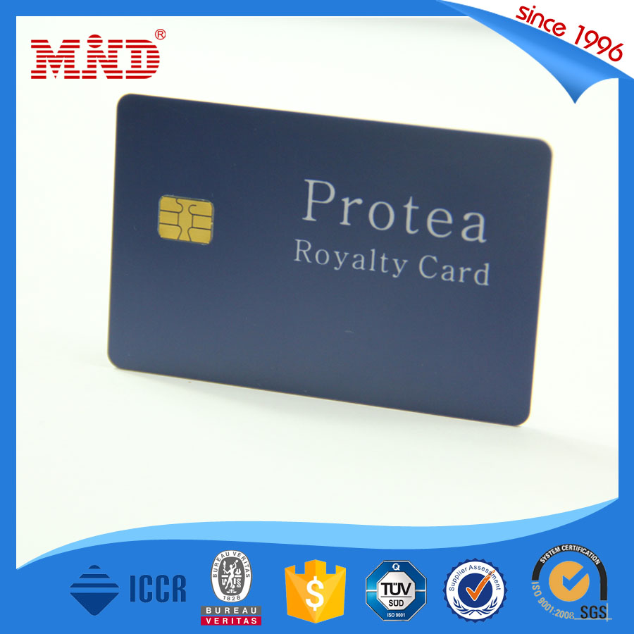 MDC235 High Quality Color Contacts Wholesale Atmel Smart Contact Cards