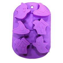 Halloween Ghost Series Silicone Cake Mold Chocolate Decorating Soap Mould Jelly Pudding Models Cake Baking Tools