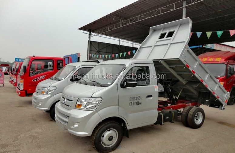 Cheap Price Sinotruck CDW Diesel Engine Mini 1 ton dump trucks for sale