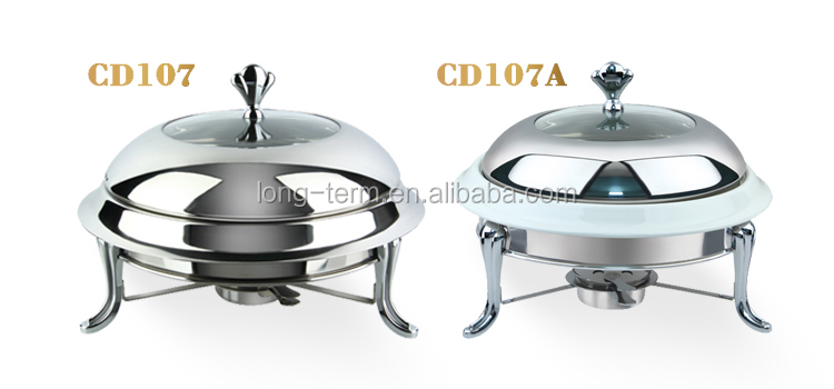 CD107A 2016 Stainless Steel Lid Chafing Dishes For Sale