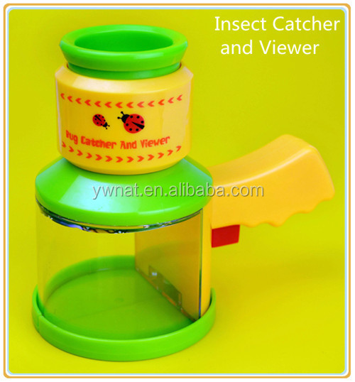 Multifunction educational science insect viewer magnifier plastic toy insect viewer