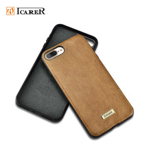 2017 Luxury Real Leather Back Cover Mobile Phone Case for iPhone 8 8 plus,Ultra Thin Mobile Back Cover for iPhone8 8plus Case