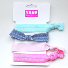 cute ponytail holders, different types of hair bands, elastic bow tie