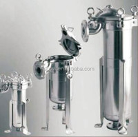 CE Marked High Through Put Food and Beverage, Wine, Beer Industry Multi-Bag Filter Housing