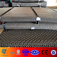 The Flat Panel lock crimped weave wire mesh for Gabbro Aggregate