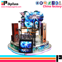 Hot Selling Entertainment Music Game Machine 2 Video Games Arcade Jazz Drum For Sale