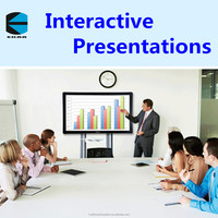 EKAA 65inch Finger Touch Portable Interactive Whiteboard