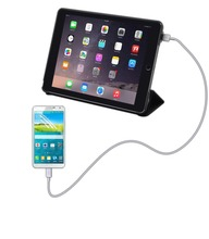 10000mAh charging stand cases for ipad air