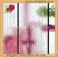 Deep acid etched pattern glass// sliding door glass