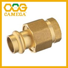 "Lead Free Brass Press Fittings 1/2""-2"" cUPC NSF61 NSF372 Approved"
