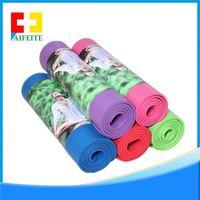 NBR black eco jute yoga mats manufacturer thick 8/10/15mm mat for yoga