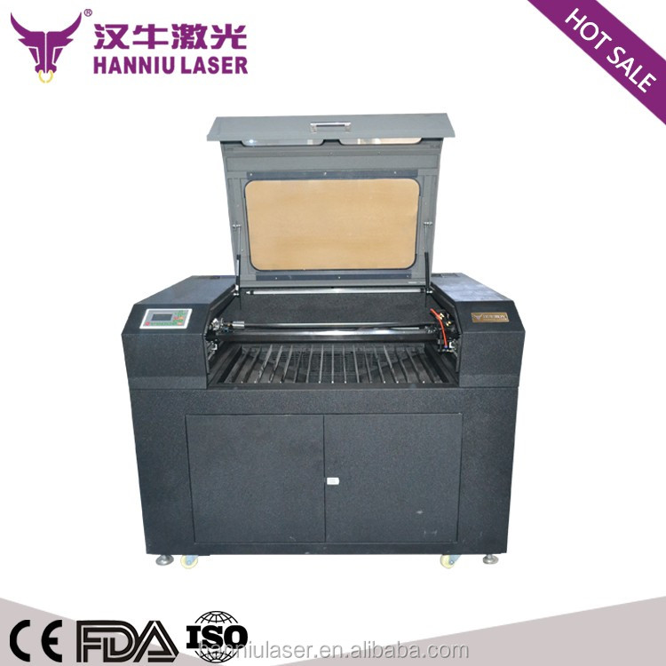 Guangzhou factory price co2 laser engraving machine with rotary up and down table UD-9060