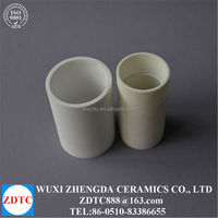 White ceramic tube