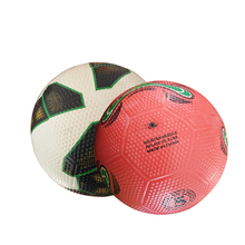 Golf surface high quality logo printed custom size 5 soccer ball