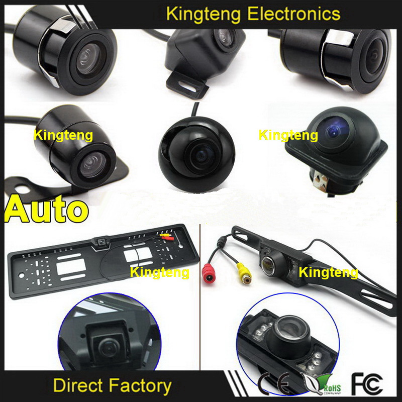 High Resolution Wireless Car Rear View Camera Gps Tracking With Video Camera