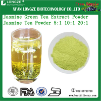 OEM factory supply Camellia sinensis L. Extract Jasmine Green Tea Extract Powder Jasminum Extract 5:1 10:1 20:1