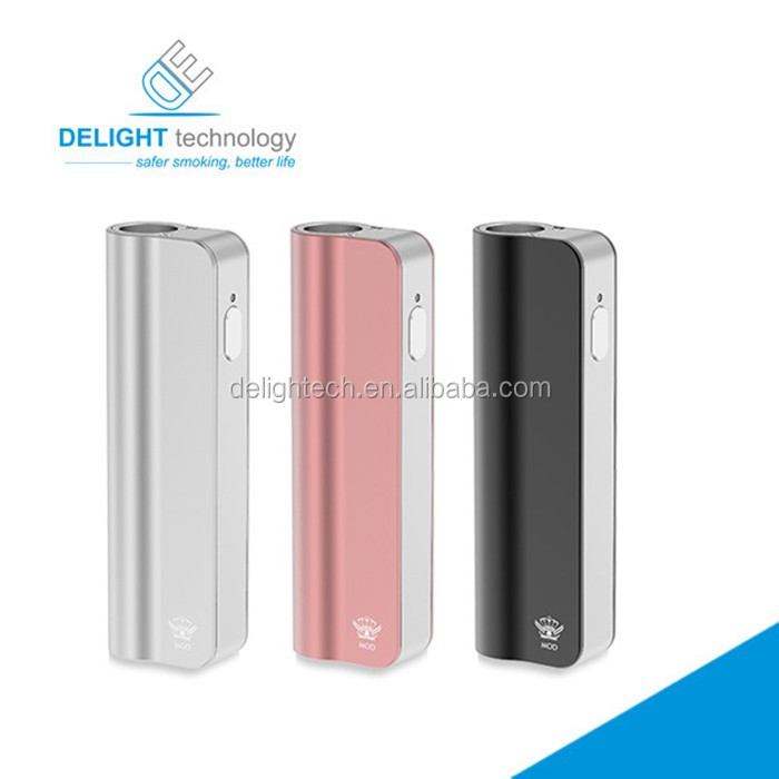 Alibaba Express 2016 new oil vaporizer box mod kit 390mah for BUD cbd oil atomizers from Delightech