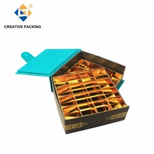 2 Layers Fancy Paper Dates Gift Packaging Box For 32 Dates