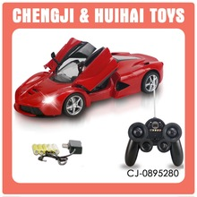 Changeable mini model 2 colors 1:16 5 channel miniature wireless remote toy car with light
