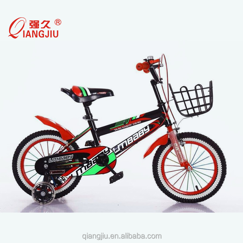 CE and CCC standard children bike with training wheel price child small bicycle