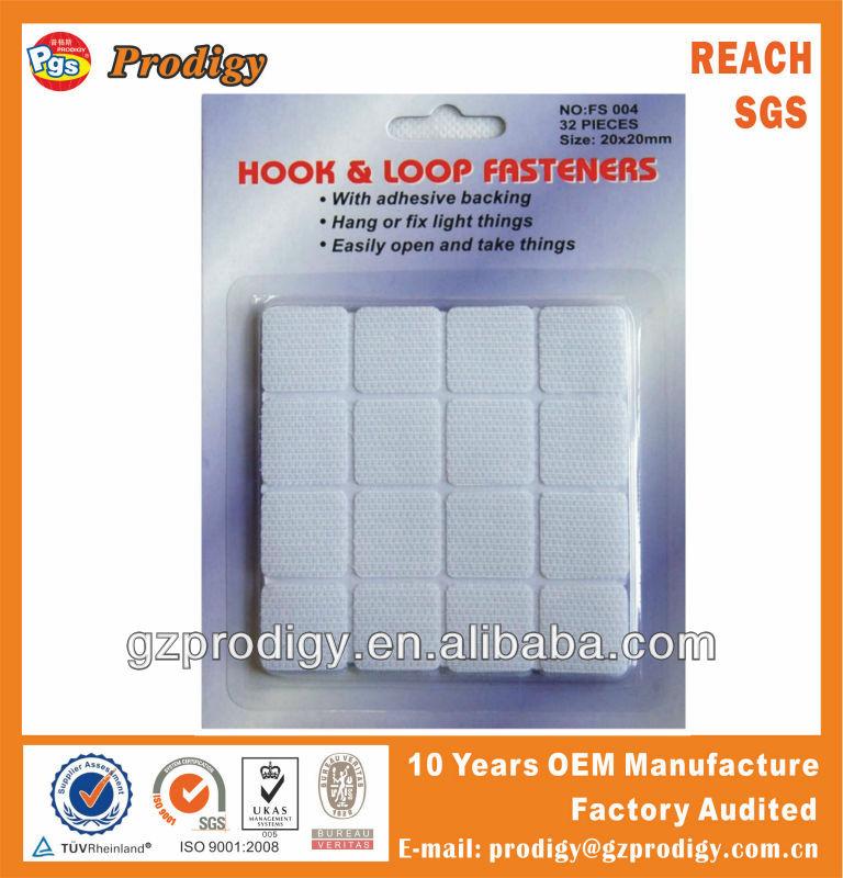 20mm adesivas de velcro pontos