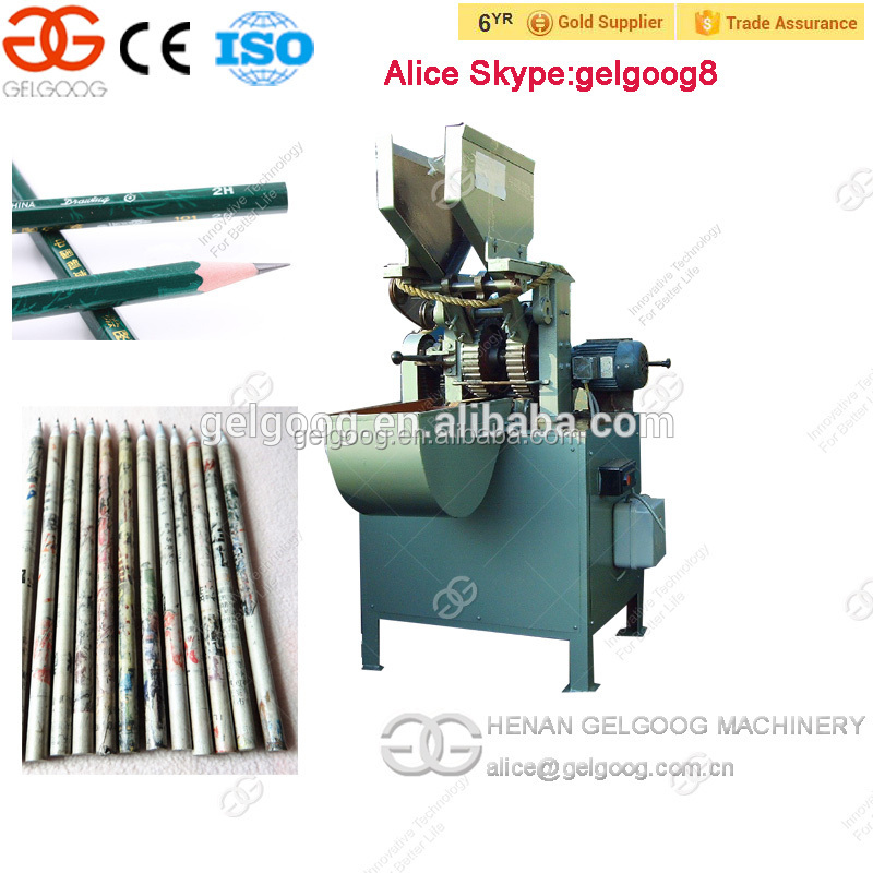 Automatic Paper Pencil Production Line Wooden Pencil Making Machine For sale