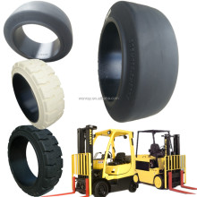 factory supply directly industrial forklift press on solid tyres 21x9x15 22x8x16 28x16x22
