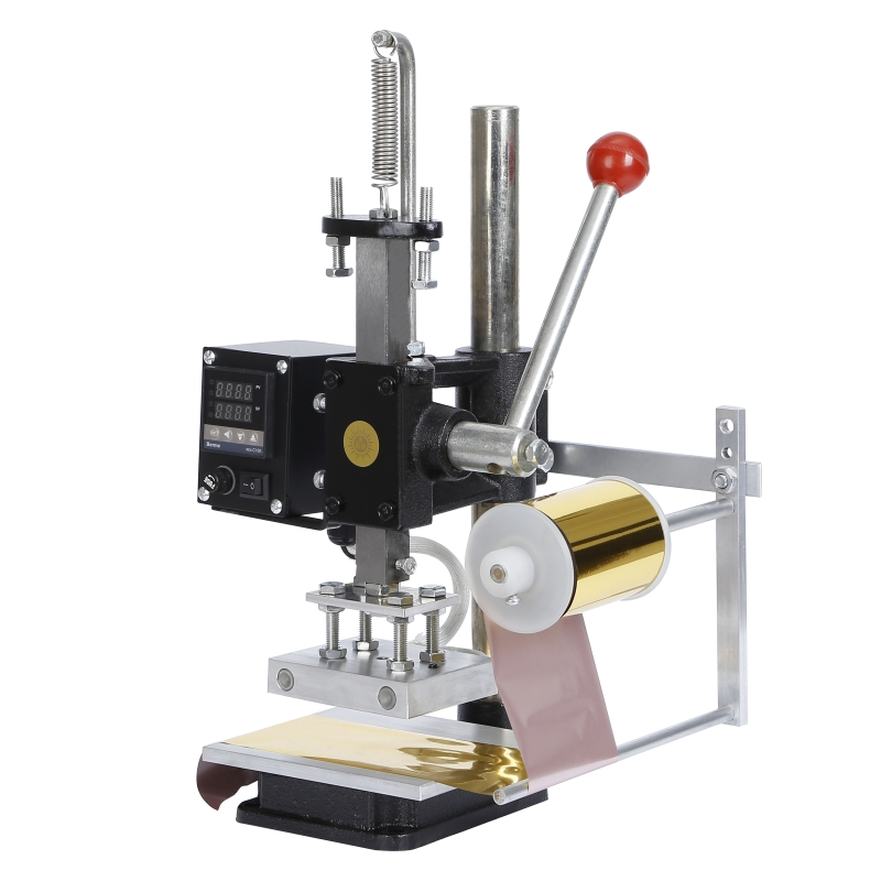 Leather PU PVC Fabric Hot Stamping Embossing Machine