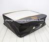 Broad and Profound Dark PU leather Home textile Packing Bag