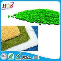 laminating to polypropylene fiber carpet backing rubber TPE compound
