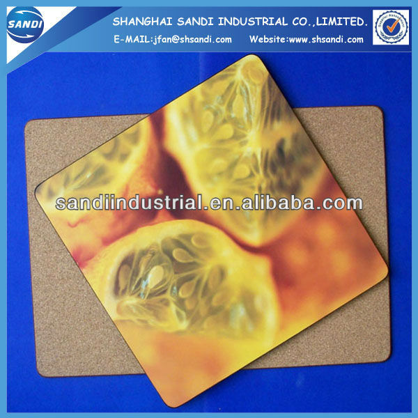 2013 promotional various MDF tin coasters with cork back