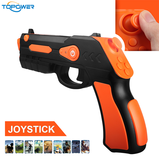 3D Shooting Games Apps Android Augmented Reality Cowboy Realistic Toy Guns For Kids