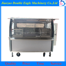 High quality china supplier mobile food cart design/Multifunction food truck /tornado potato food cart