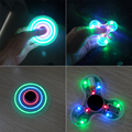 Hot Selling Flashing LED Bluetooth Speaker Hand Spinner Toy