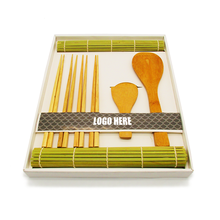 bamboo sushi rolling mat, sushi making kit , sushi roller for 2 person on promotion