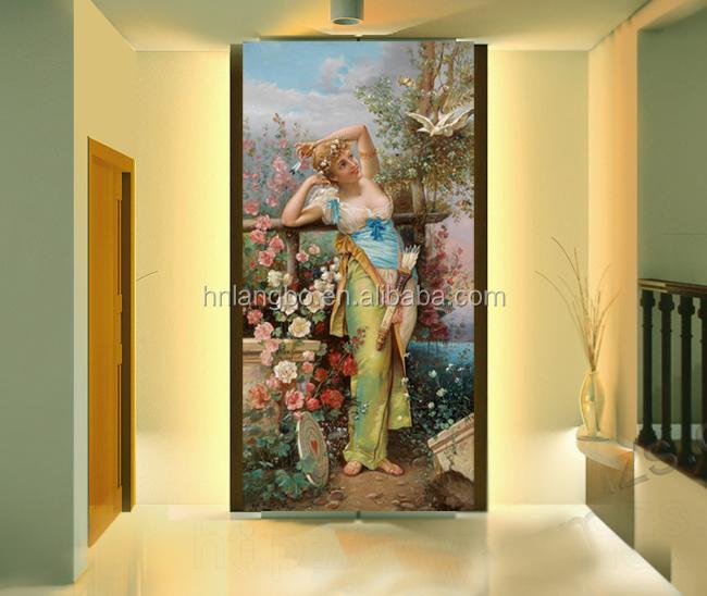 pintura europea figura mujeres dormitorio pasillo papel pintado mural