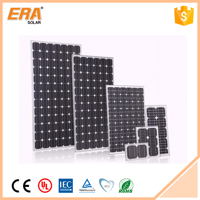 Modern design competitive price portable 190 watt solar panels